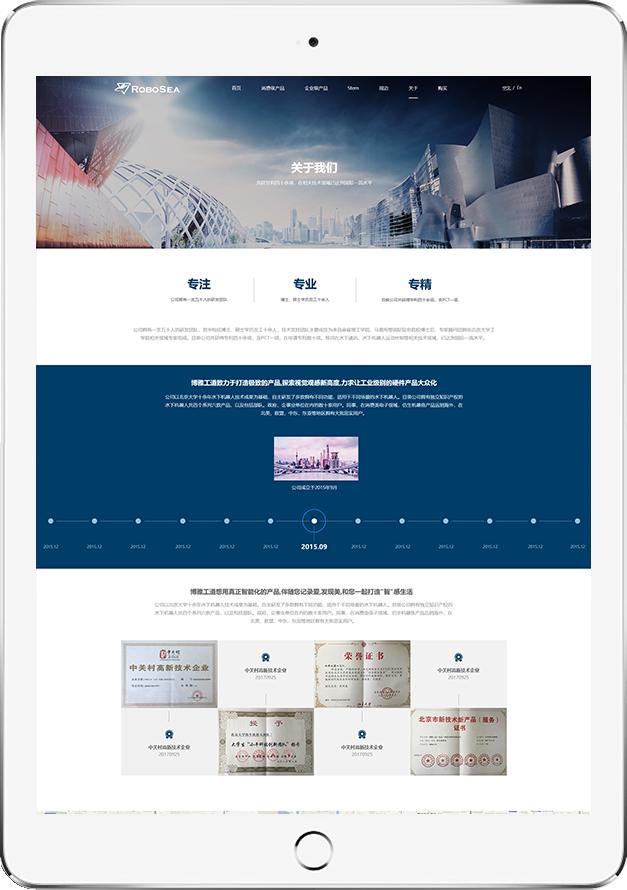 北京网站设计案例-博雅工道